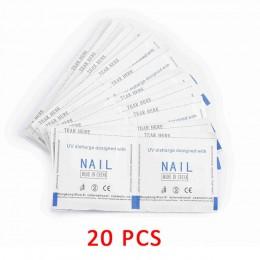ROSALIND odtłuszczacz żel zmywacz do paznokci Lint-Free chusteczki 100 sztuk serwetki do Manicure do mycia do paznokci żel UV zm