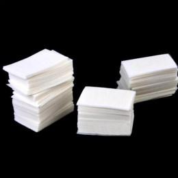 400 sztuk/paczka chusteczki serwetki Manicure usuń paznokcie lakier płatki kosmetyczne do paznokci narzędzia artystyczne Lint fr