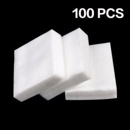 Gorąca sprzedaż 900 sztuk/partia zmywacz do paznokci chusteczki do paznokci Manicure do kąpieli żel Lint-Free chusteczki 100% ba