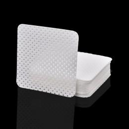 400 sztuk zmywacza do paznokci chusteczki bawełniane żel UV do paznokci porady zmywacz do paznokci Cleaner Lint-Free Pad papieru