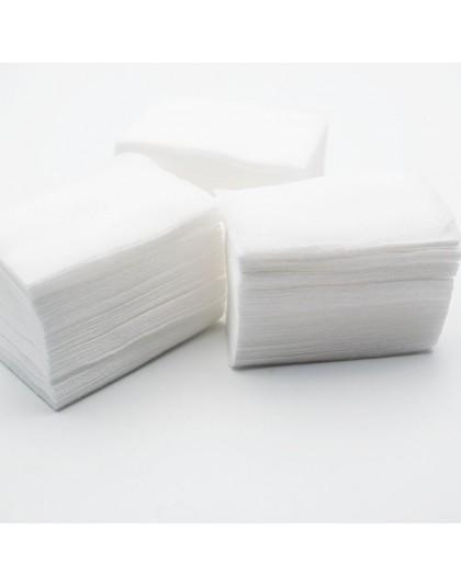 200 PCS/100 PCS chusteczki do paznokci żel UV do paznokci porady zmywacz do paznokci Cleaner Lint Paper Pad do czyszczenia pazno