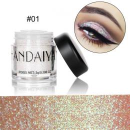 HANDAIYAN holograficzny cekiny diament kolorowe żel brokat błyszczące ciała syrenka festiwal w proszku makijaż kosmetyki TSLM1