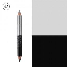 12 kolorów wyróżnienia brokat cień do powiek Eyeliner pióro makijaż trwały wodoodporny, odporny na pot podwójnie zakończony oczy