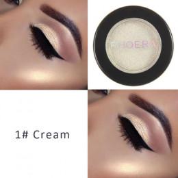 PHOERA cieni do powiek Eye brokat Shimmer 24 kolory naturalny matowy paleta Pigment oczy sprawiają, że kosmetyczne do twarzy kle