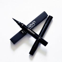 Channy czarny dwugłowy Eyeliner ołówek z panną pieczęć pieczęć Maquiagem wodoodporny skrzydła Eye Liner kosmetyki