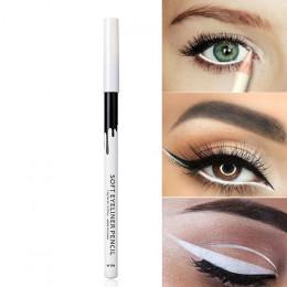 2018 nowy wysokiej jakości wodoodporny biały Eyeliner ołówek długotrwały oczy Contur Eye Liner makijaż oczy kosmetyczne Eyeliner
