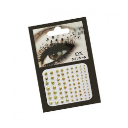 1 PC 3D Sexy kryształ klejnot tymczasowy DIY diamentowe oczy festiwal Party Makeup narzędzia oczy brokat makijaż ozdoby naklejki