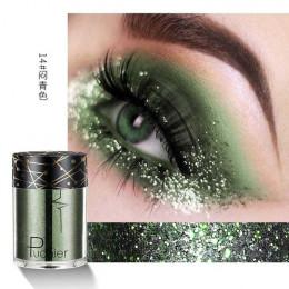 Pudaier Shimmer holograficzne cekiny tatuaż brokatowy brokat skóry oczu wyróżnienia festiwal Pigment do twarzy usta ciała brokat