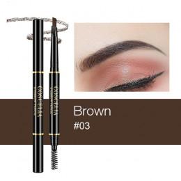 COSCELIA 1Pc ołówek do brwi dwustronne ołówek 6 kolory dla makijaż trwały pióro do brwi kosmetyki łatwe do wyciągnąć narzędzie o