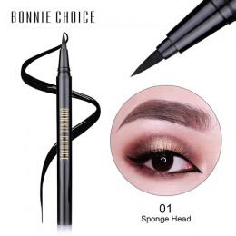 BONNIE wybór 1 Pc płynny eyeliner ołówek długotrwały wodoodporny czarny Eye Liner Pen makijaż narzędzia kosmetyczne