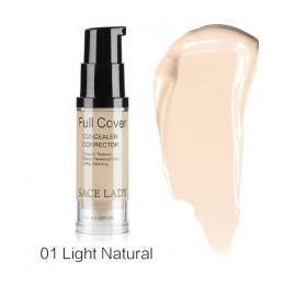 SACE LADY pełna pokrywa 8 kolory ciecz korektor makijaż 6 ml oczu ciemne koła krem do twarzy korektor wodoodporna baza do makija