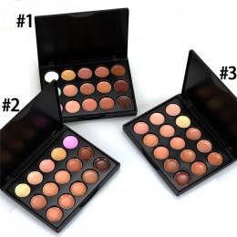 MIni 15 kolorów korektor twarzy kamuflaż krem konturowy paleta maquillaje profesional fundacja paleta korektor 52420