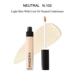 PHOERA 10 kolory ciecz korektor kij podkład do makijażu krem blizny trądzik pokrywa gładka makijaż twarz oczy kosmetyczne TSLM2