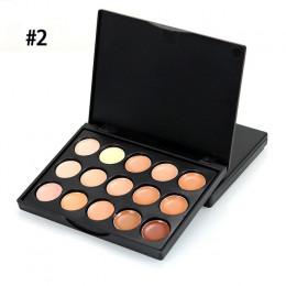15 kolory naturalne profesjonalny korektor palety długotrwałe fundacja twarzy Contour Palette podkład do makijażu TSLM1