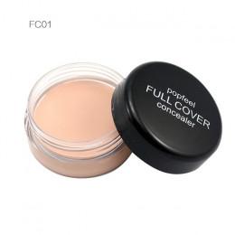 Popfeel kobiet makijaż twarzy ukryj skazy korektor Contouring Corretivo Maquiagem krem idealny pokrywa makijaż korektor uroda na