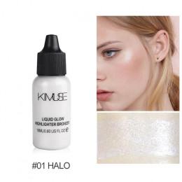 KIMUSE twarzy pudełko do makijażu Shimmer podkład Ultra oświetlające brązujący makijaż korektor rozświetlacz w płynie zestaw kos