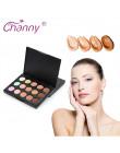 MiNi naturalne profesjonalny korektor palety 15 kolorów podkład do makijażu twarzy kosmetyk krem do twarzy korektor paleta
