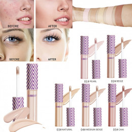 Pełna pokrywa korektor w płynie korektor wygodny Pro eye korektor krem popularny zestaw do makijażu szczotka fundacja korektor w