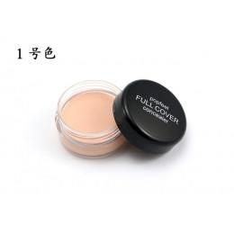 Korektor twarzy krem wodoodporna kontrola oleju ukryć oczu skazy na twarzy podkład do makijażu pełna pokrywa baza korektor korek