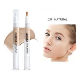 Nowy marka makijaż twarzy 5 kolory opcjonalny korektor w płynie szczotka wygodne obrotowy szczotka korektor profesjonalny zestaw