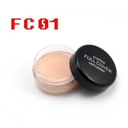 1 Pc kobiety paleta korektor makijaż 5 kolory krem profesjonalne twarzy Eye baza paleta twarzy oczu brwi podkład kosmetyki do ma