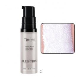 Highlighter oświetlacz konturowanie makijaż rozjaśniacz do twarzy korektor rozświetlacz w płynie podkład Bronzer twarzy blask ko