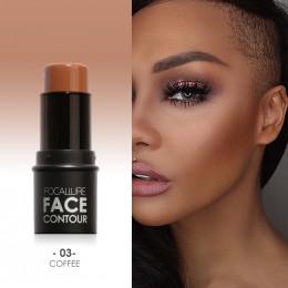 Focallure Bronzer i wyróżnienia makijaż twarzy łatwe do noszenia naturalne podświetlenie oświetlacz makijaż Bronzer wyróżnienia