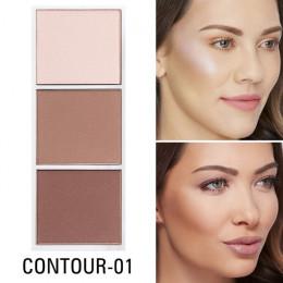 SACE LADY 4 kolory wyróżnienia paleta do makijażu twarzy produkt do konturowania Bronzer makijaż róż do policzków profesjonalneg
