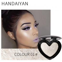 Uroda makijaż Shimmer wyróżnienia kosmetyki do twarzy puder prasowany podkreślić paleta rozjaśnić skóry konturowania Iluminador