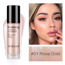 SACE LADY oświetlacz highlighter krem do twarzy i ciała Shimmer makijaż płyn rozświetlający profesjonalnego blask zestaw kosmety