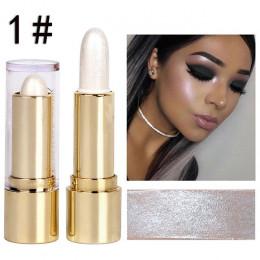DNM 7.3 cm Pro twarzy wyróżnienia kij Shimmer Shine 3D wysokiej światła upiększyć kontur zakreślacz, aby rozjaśnić skóry TSLM2
