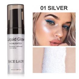 SACE LADY twarzy wyróżnienia krem cieczy oświetlacz makijaż Shimmer blask zestaw do makijażu twarzy rozjaśnić Shine marki kosmet