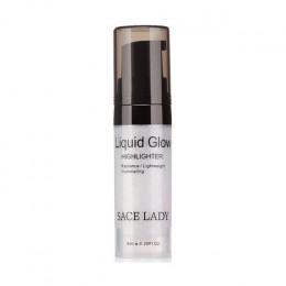 SACE LADY 1 sztuk twarzy wyróżnienia krem oświetlacz makijaż bronzer wyróżnienia do konturowania twarzy rozświetlacz w płynie