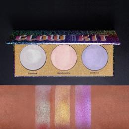 UCANBE marki brokat wyróżnienia holograficznych kosmetyków do makijażu paleta Shimmer Bronzer Highlight Eyeshadow kosmetyki oświ