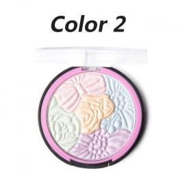 5 kolory twarzy paleta shimmer glitter proszek do makijażu powiek pallete maquiagem profissional completa kosmetyczne bronzer ma