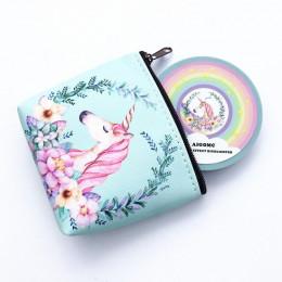AIGOMC jednorożec blask zestaw wyróżnienia 5 kolorów paleta kontur twarzy tęczy wyróżnienia z kosmetyczka zestaw do makijażu