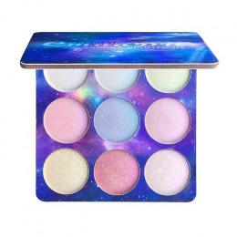 Wyróżnienia Eyeshadow paleta oświetlacz twarzy rozjaśnić konturowe wyróżnienia paleta do pudru Bronzer Face Glow zestaw kosmetyk