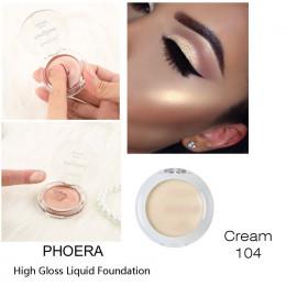PHOERA oświetlenie twarzy wyróżnienia krem Shimmer konturowanie makijaż podkreślić 8 kolory rozjaśnić twarzy blask brąz BTZ1 TSL