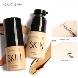 FOCALLURE baza twarzy płynny podkład w kremie pełne pokrycie korektor kontrola oleju łatwe do noszenia miękkie twarzy podkład do