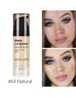 Fundacja baza makijaż profesjonalne twarzy matowe wykończenie cieczy korektor do makijażu krem wodoodporny kosmetyków naturalnyc