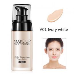 Baza do makijażu twarzy ciekła podstawa BB Cream korektor nawilżający kontrola oleju wybielanie wodoodporny podkład w płynie Maq