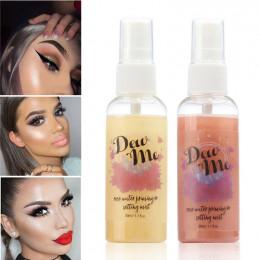 Spray utrwalający makijaż matowe wykończenie stawiania butelek kontrola oleju w sprayu, naturalny, długotrwały makijaż Fix Found
