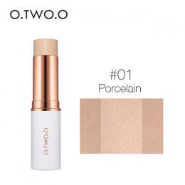 O.TWO.O twarzy podkład w sztyfcie makijaż matowy efekt 6 kolor wodoodporny długotrwały korektor do twarzy Contour kosmetyczne
