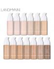Langmanni 30 ml płynu fundacja miękkie matowy korektor 13 kolorów Primer baza profesjonalny makijaż twarzy paleta do konturowani