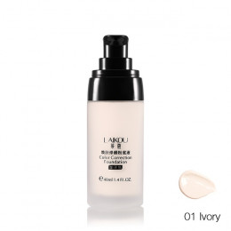 LAIKOU marka makijaż baza twarz ciekła podstawa BB krem korektor wybielanie nawilżający kontrola oleju wodoodporna Maquiagem 40g