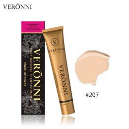 VERONNI 14 kolorów mały złoty rury wodoodporna makijaż fundacja krem pod oczy koło drobne linie skóry korektor w płynie TSLM2