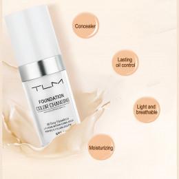 30 ml TLM zmiana koloru korektor w płynie bardzo trwała idealny makijaż zmienić się do odcienia skóry przez mieszanie TSLM2