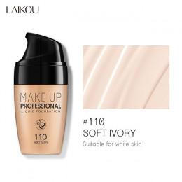 30ML twarzy fundacja krem wodoodporny długotrwały korektor w płynie profesjonalny makijaż pełne pokrycie matowy baza makijaż