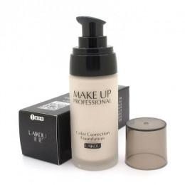 LAIKOU wybielanie pełne pokrycie płynem korektor w płynie naturalny nawilżacz kontrola oleju wodoodporny makijaż kosmetyczne 40g