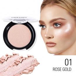 Hot moda twarzy do pielęgnacji w proszku wyróżnienia róż do policzków gładki makijaż kontur twarzy podkład rozświetlający w pros